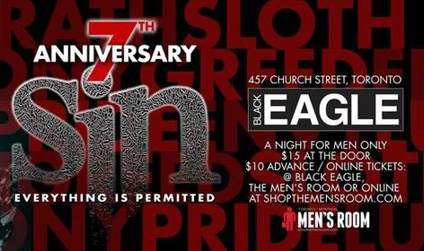 SIN'S 7TH ANNIVERSARY W/ DJ JOE ROSS (HOUSTON)