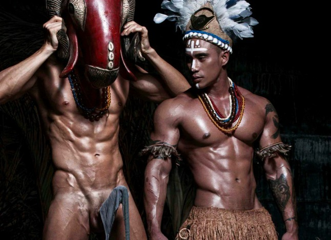 WILD AND NUDE ASIAN WARRIORS (NSFW)