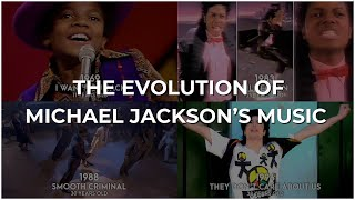 The Evolution of Michael Jackson's Music – from 1969 to 2018 (Biggest Hits)